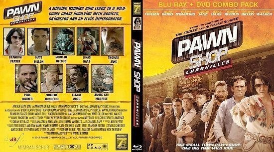 dvd cover Pawn Shop Chronicles