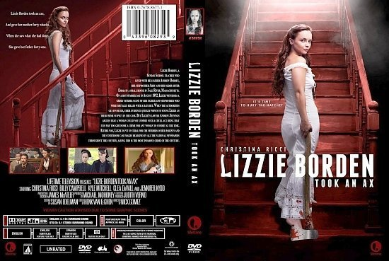 dvd cover Lizzie Borden Took An Ax