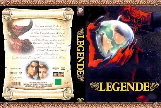 dvd cover Legende (1986) R2 German