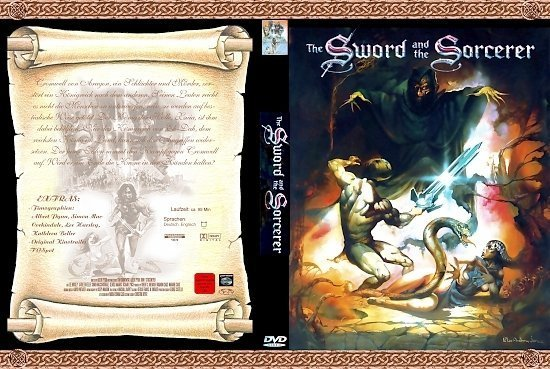 dvd cover The Sword and the Sorcerer (1982) R2 German