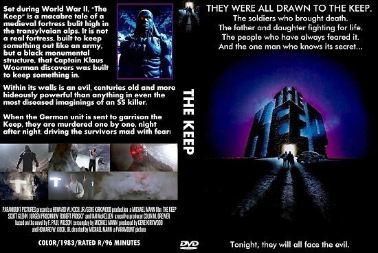 dvd cover The Keep