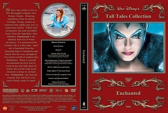 dvd cover Enchanted RW