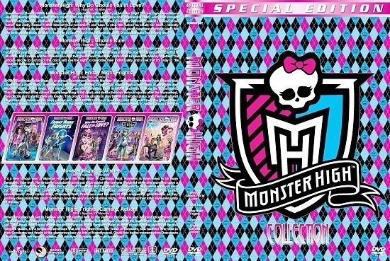 dvd cover Monster High Collection