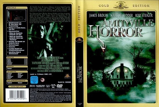 dvd cover Amityville Horror (1979) R2 German