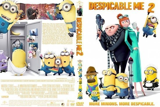 dvd cover Despicable Me 2