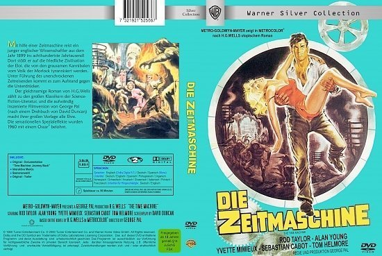 dvd cover Die Zeitmaschine (1960) R2 German
