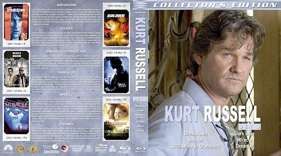dvd cover Kurt Russell Collection Set 3