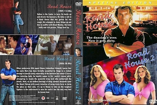 dvd cover Road House Double Feature