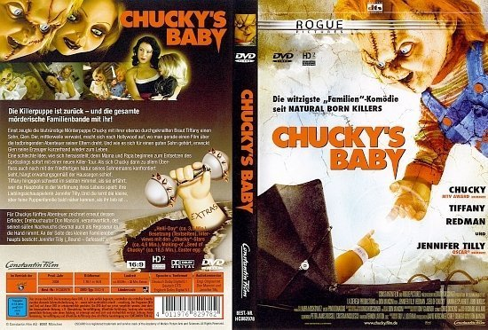 dvd cover Chuckys Baby (2004) R2 German
