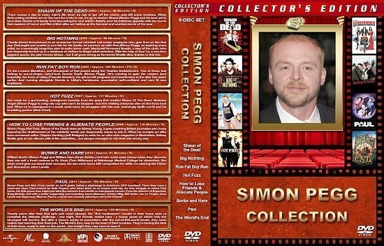 dvd cover Simon Pegg Collection