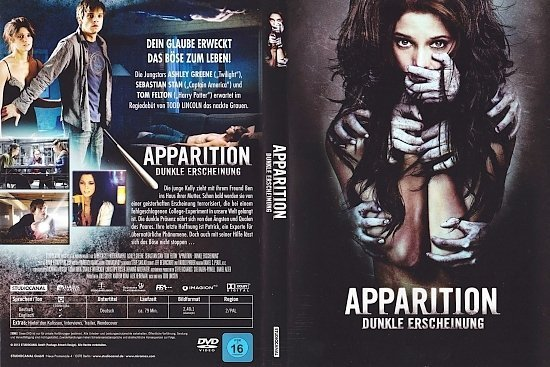 dvd cover Apparition: Dunkle Erscheinung R2 GERMAN