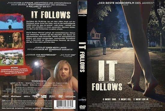 dvd cover It Follows R2 GERMAN