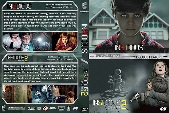 dvd cover Insidious Double Feature