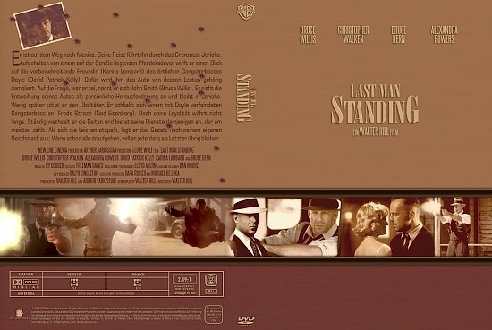 dvd cover Last Man Standing (Gangster Collection) (1997) R2 German
