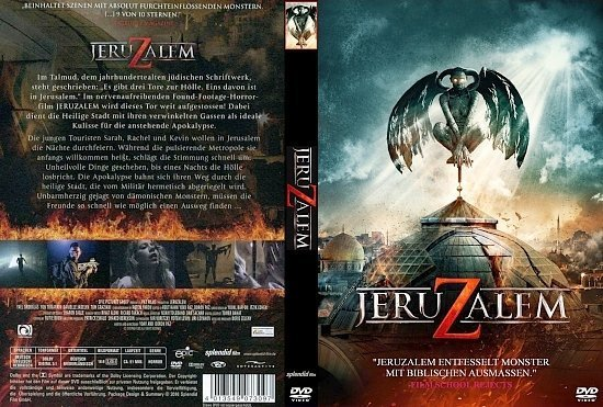 dvd cover Jeruzalem (2016) R2 GERMAN