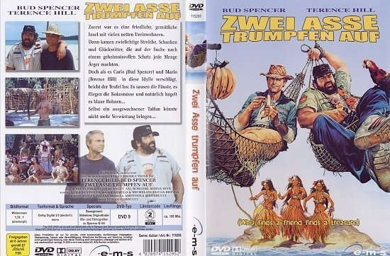 dvd cover Zwei Asse trumpfen auf (Bud Spencer & Terence Hill Collection) (1981) R2 German