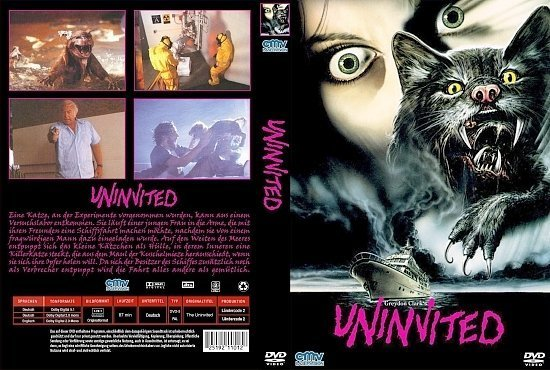 dvd cover Uninvited (1988) R2 GERMAN