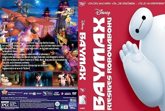 dvd cover Baymax: Riesiges Robowabohu R2 GERMAN