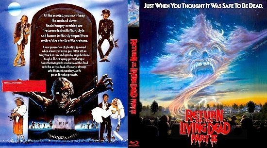 dvd cover Return Of The Living Dead Part II
