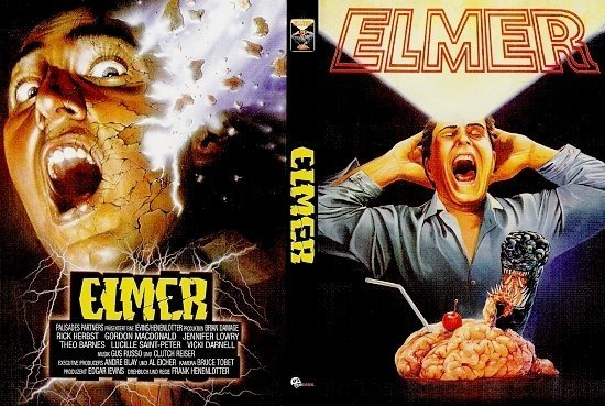 dvd cover Elmer: Brain Damage (1988) R2 German