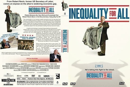 dvd cover Inequality For All