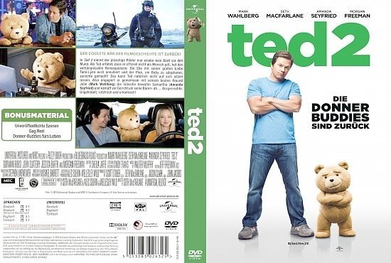 dvd cover Ted 2 R2 GERMAN