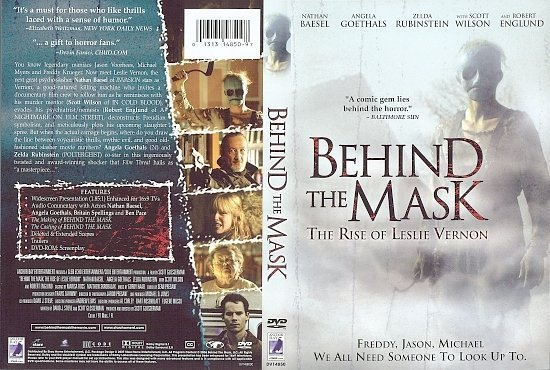 dvd cover Behind the Mask: The Rise of Leslie Vernon (2006) R2 German