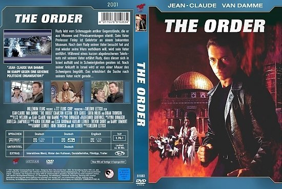 dvd cover The Order (Jean-Claude Van Damme Collection) (2002) R2 German