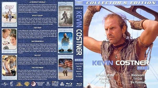 dvd cover Kevin Costner Collection Set 3