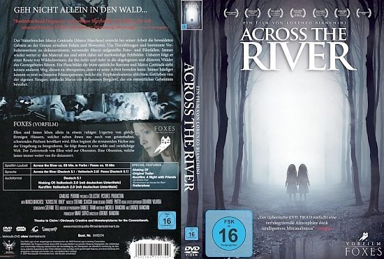 dvd cover Across the River R2 GERMAN