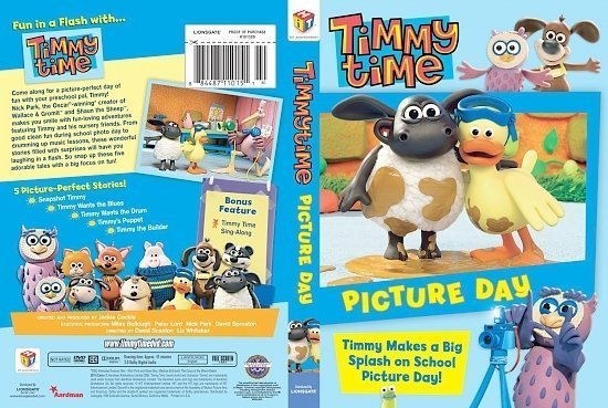 dvd cover Timmy Time Picture Day