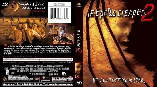 dvd cover Jeepers Creepers 2