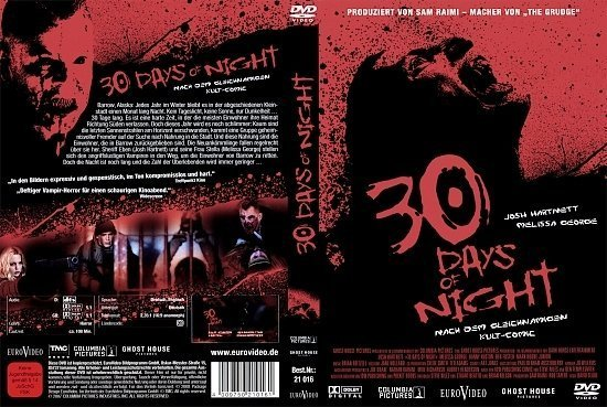 dvd cover 30 Days of Night (2007) R2 German
