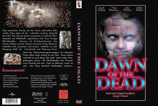 dvd cover Dawn of the Dead (2004) R2 German