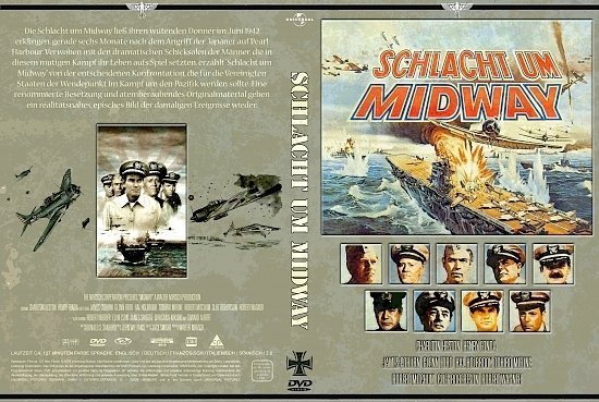 dvd cover Schlacht um Midway (1976) R2 German