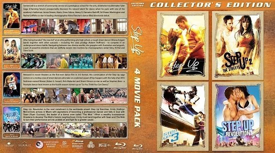 dvd cover Step Up Collection