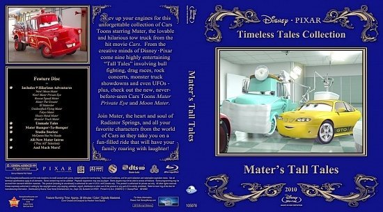 dvd cover Mater s Tall Tales1