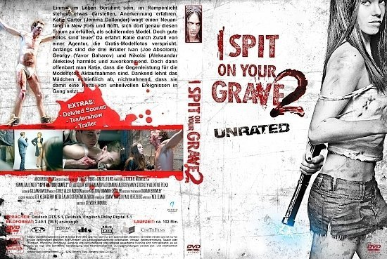 dvd cover I spit on your Grave 2 R2 GERMAN
