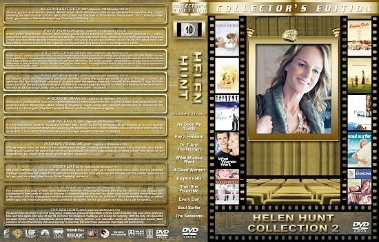 dvd cover Helen Hunt Collection