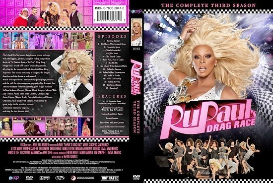 dvd cover RuPaul's Drag Race The Complete Third Season