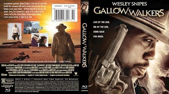 dvd cover Gallow Walkers