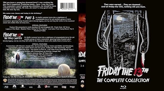 dvd cover Friday The 13th: The Complete Collection #2
