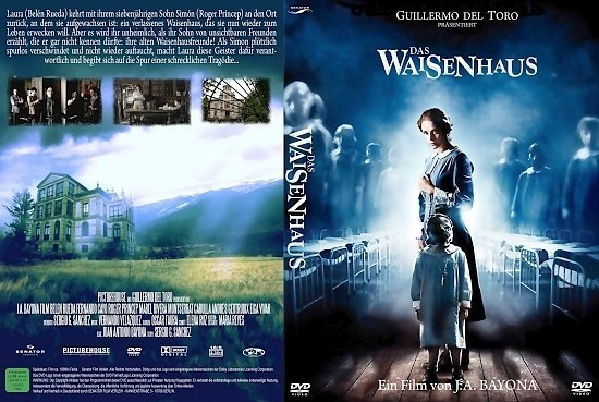 dvd cover Das Waisenhaus (2007) R2 German