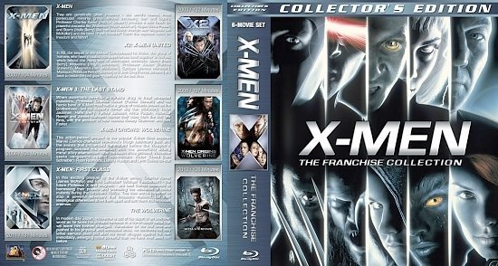 dvd cover X Men: The Franchise Collection version 3