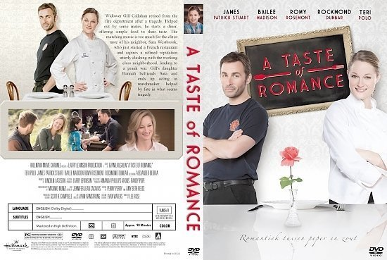 dvd cover A Taste of Romance 2012 CUSTOM cover