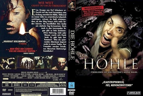 dvd cover Die Höhle R2 GERMAN