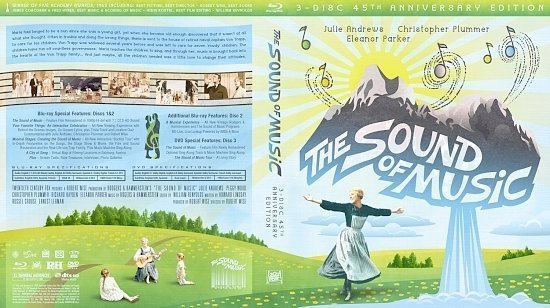 dvd cover Sound Of Music