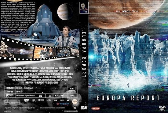 dvd cover Europa Report R1 CUSTOM cover
