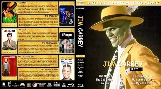 dvd cover Jim Carrey Collection Set 1