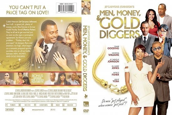 dvd cover Men Money & Gold Diggers